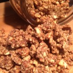 Cinnamon nut cluster low carb cereal